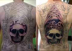 Very unusual and very cool tattoo sleeve... www.thetattoofanatic.com