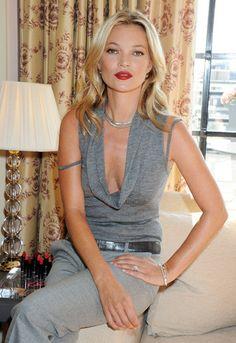 Kate Moss' beauty secrets