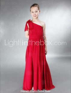 chiffon junior, bridesmaids, floorlength chiffon, colors, one shoulder, shoulder floorlength, alin princess, black, junior bridesmaid dresses