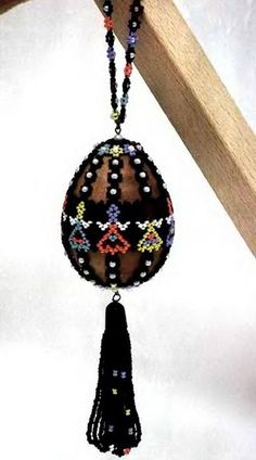 Beaded Egg PATTERN