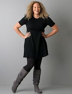 still cute for 2013/14 2010 and 2011 Winter Fashion Trends For Plus Size and Curvy Women | Real Women Have Curves Blog