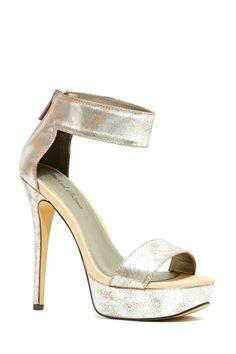Disco Fever Heel | Nasty Gal #prom #disco #silver #iridescent #platforms #heels