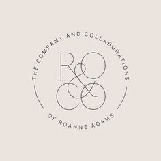 I love this elegant mark, ro and co