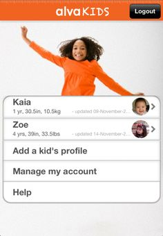 AlvaKids app helps parents figure out just the right size in any kids' brand. Fewer returns, whoo! | coolmomtech.com