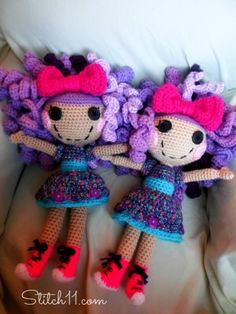 Lalaloopsy Inspired Doll - Free Crochet Pattern!