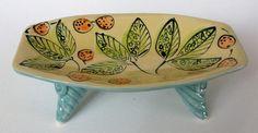 Decorative Stoneware Handmade Functional Leaf and by JoyceSloanim, $32.00