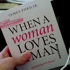 I've loved reading this!! If you want to pursue how to be a godly & submissive wife, this book is great! =) (When a Woman Loves a Man by James Ford Jr.)