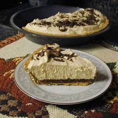 Weight Watchers Chocolate Chip Peanut Butter Pie Recipe - ZipList