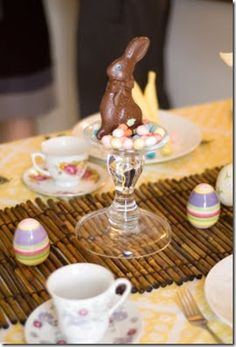 Quick & easy Easter table