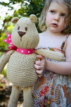 Teddy Bear Pattern. (free) thanks so xox