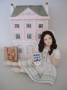 D IS FOR DOLLSHOUSE WITH MINI FURNITURE AND TINY FOLK | Flickr - Photo Sharing!