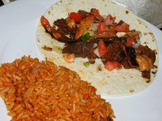 Venison Chantrelle Fajitas @ Slow Cooking Kitchen.com