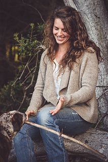 The Curve by Annie Rowden #knitting #sweater