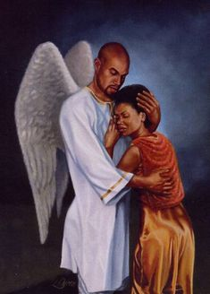 african american angel images | African American Art depicting an angel