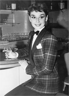 Audrey Hepburn set the fashion standards of the early 1960's. Her great-grandmother was Kathleen Hepburn, descendant of the Scottish consort James Hepburn, 4th Earl of Bothwell, best known for his marriage to Mary, Queen of Scots, as her third husband. ~*~PM