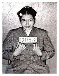 Rosa Parks, inspirierte eine ganze Generation um für die Bürgerrechte zu kämpfen.