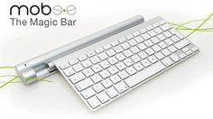 The Magic Bar™ from Mobee Technology is the world's first inductive charger  for the Apple Wireless Keyboard & Magic Trackpad.