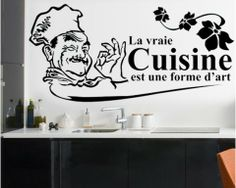 phrases cuisine on pinterest kitchen art kitchen prints and sticke. Black Bedroom Furniture Sets. Home Design Ideas