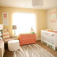 A gorgeous baby girl nursery featuring stunning customized prints and furniture