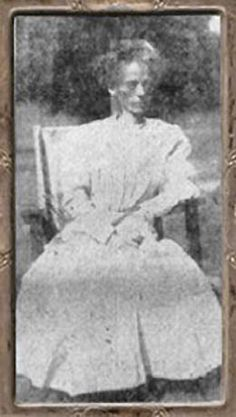 Dorothea Williamson, shortly after her departure from Wilderness Heights. Despite the poor quality of the photograph, the effects of Dr. Hazzard's 'fasting treatment' are clearly evident