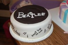 beatl cakeomg, 60th birthday, birthday idea, sign cake, birthday cakes