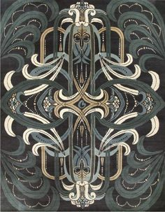 Rhapsody from the Catherine Martin Deco Collection from Designer Rugs