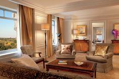 The Royal Suite at The Ritz-Carlton New York, Central Park offers over 1,900 square feet of pure luxury surrounded by stunning panoramic views of Central Park and New York City.