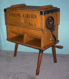 1864 Butter churn