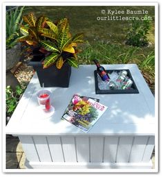 "Our Little Acre: ""Lowe's Creative Ideas - Furniture Rehab Project - Part Two""    Lowe's Creative Ideas: http://lowescreativeideas.com/"