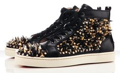 Louboutin Pik Pik Sneakers.