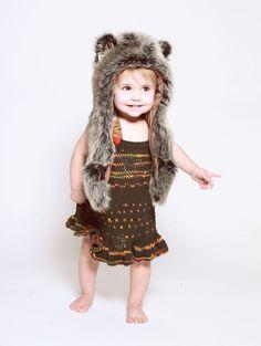 babi hood, grey wolf, spirithood kid, hoods, spirit hood, spirithood inner, babi girl, kids, wolf babi