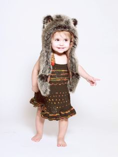 Spirit Hoods @Culture Baby babi hood, grey wolf, spirithood kid, hoods, spirit hood, spirithood inner, babi girl, kids, wolf babi
