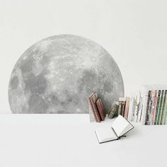 Celestial Crescent Wall Decals