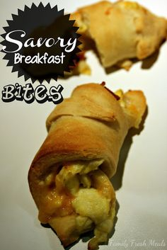 Made these this morning but with biscuits! Yum..savory Breakfast Bites  Super Easy Breakfast