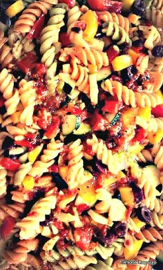 Tri Colour Summer Salad...perfect for BBQ's and those lovely Summer days!