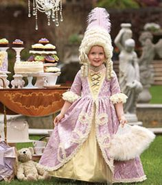 """marie antoinette girls costume - Only at Chasing Fireflies - """"In honor of Halloween,"""" she declares, """"let them eat . . . candy!"""""""