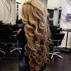 curly waves to die for!!! curls, blonde brown long hair -- my fave