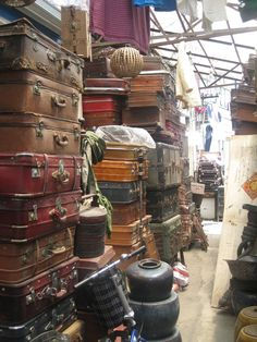 Antique market in Shanghai