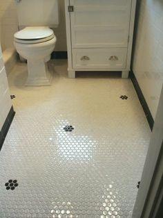 Good Home Construction's Renovation Blog: 1920's Bungalow Bathroom with Custom Vanity