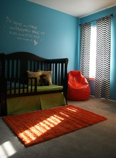 Colorful and Fun Little Boy Room
