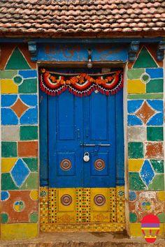 The India Tube - The Lambadis' doors in Andhra Pradesh