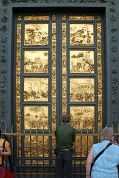 Heaven's Gate in Florence: These doors got their name from Michelangelo himself, who said they were worthy of being the gates to Paradise.