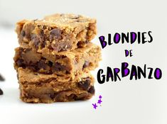 Blondies de garbanzo ¡Irresistibles! - Nutririana