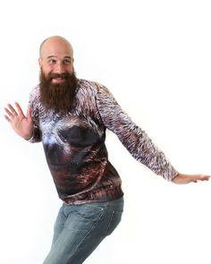 Happy Sloth Sweatshirt by Beloved Shirts