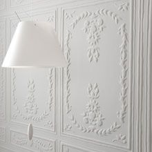 Wall Paper - Chance wallcovering | Elitis - White