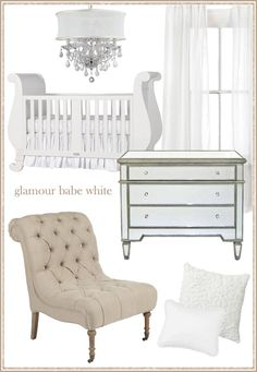 white/tan nursery