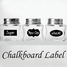 $10 for a Set of 12 Chalkboard Labels ($24 Value) and Free Shipping
