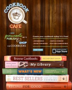 create & publish virtual cookbooks for free via @BakeSpace great for Mother's Day