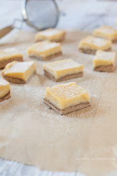 Paleo Lemon Bars #glutenfree #grainfree #paleo