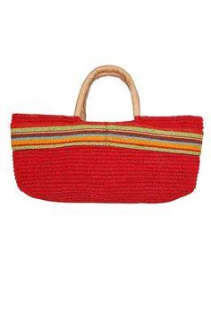 Striped Sea Grass Bag.....love it